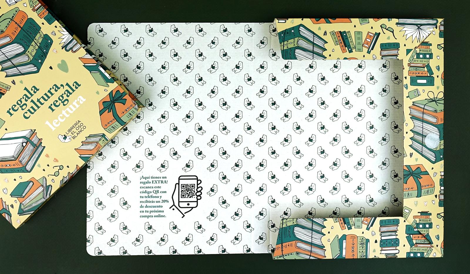 Plantilla de packaging descargable para diseñar
