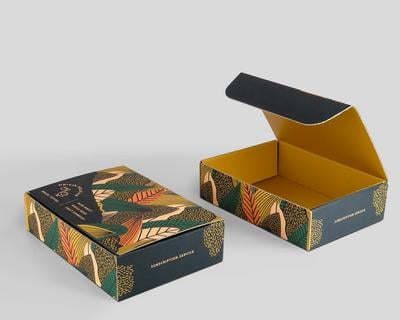 Packaging caja postal